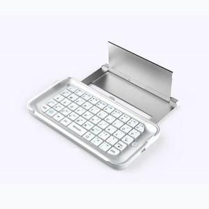 Slide-Out sans fil Bluetooth clavier rétroéclairé Hard Case pour Iphone 6 Plus
