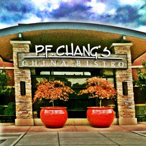 P.F. Chang's, one of my favorites for great chinese food