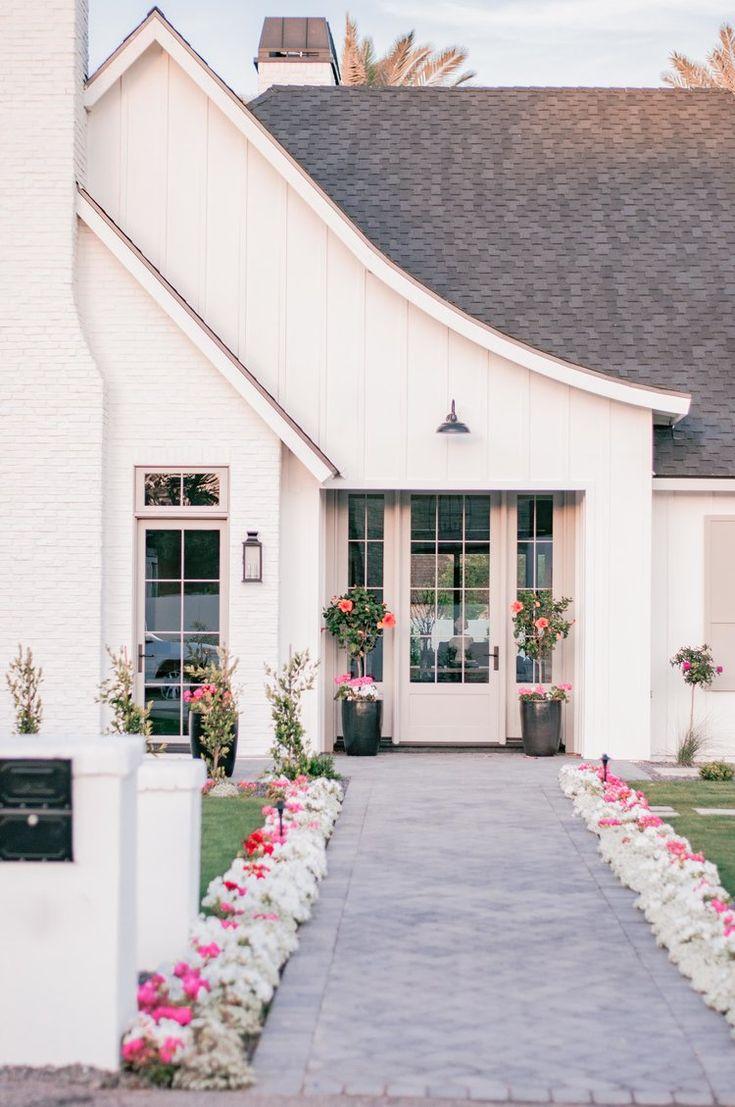 49 Most Popular Modern Dream House Exterior Design Ideas 3 In 2020: Unique House Design, Beautiful Homes, Craftsman