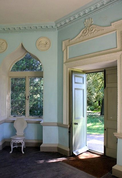 Folly at Saltram House, home to some of Robert Adams' most famous interiors,