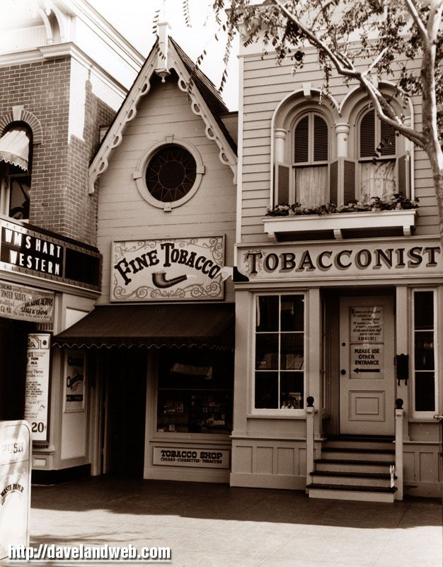 Once upon a time, before the anti-smoking zealots took over the world, there was a tobacco shop on Main Street.  How cool is that? 1971