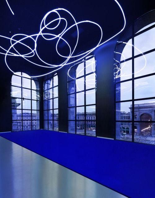 Yves Klein- Lucio Fontana - Milan Paris 1957-1962 Exhibition Museo Del Novecento, Milan