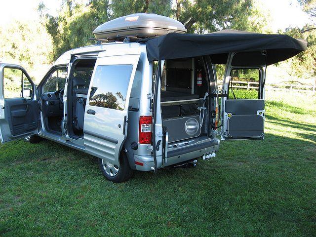 Fordtransit Connect Camper 3 Ford Transit Connect Camper