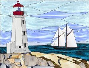 Les 25 meilleures id es de la cat gorie dessins de vitraux - Dessin de phare ...