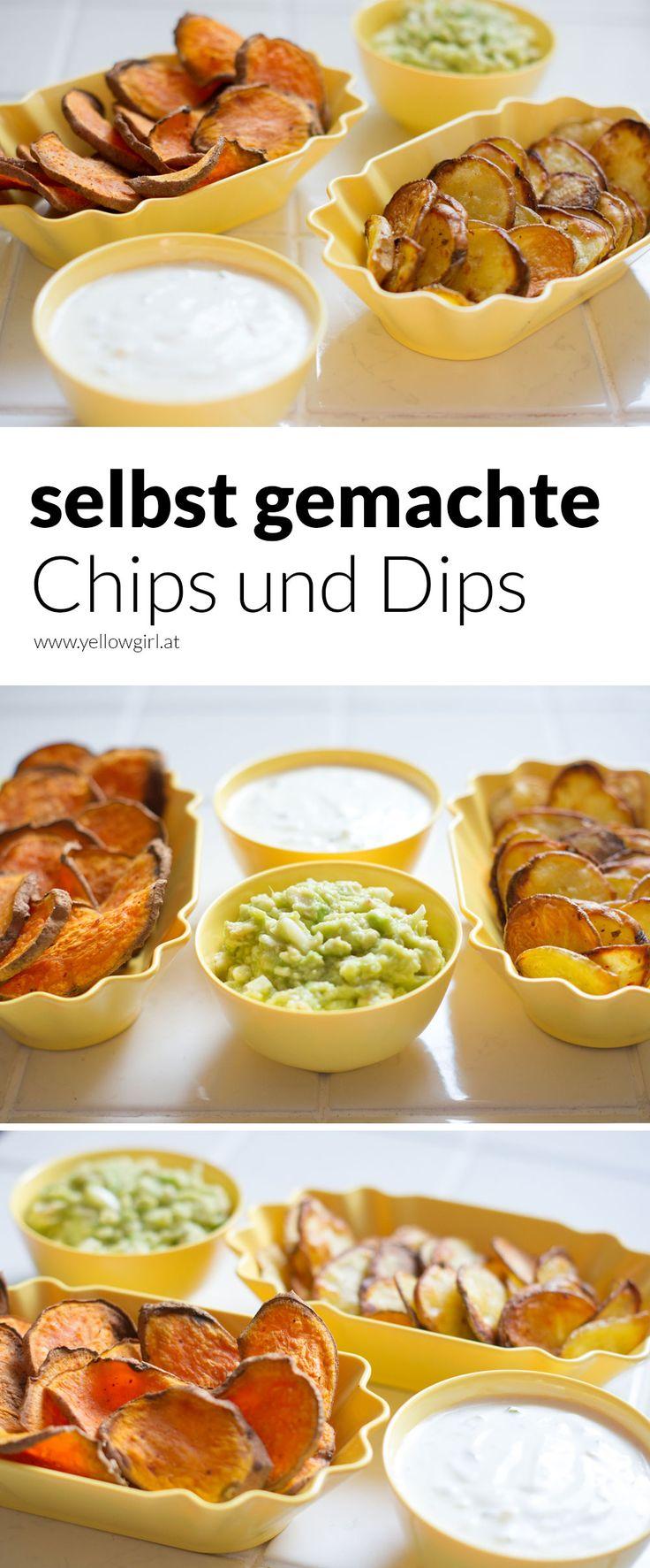 Selbst gemachte Chips zum EM-Finale - yellowgirl der DIY und lifestyle Blog