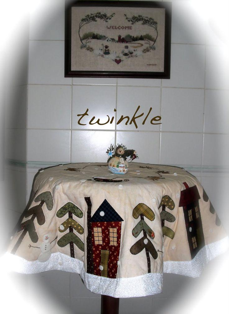 mantel navideño para mesa coqueta - Buscar con Google