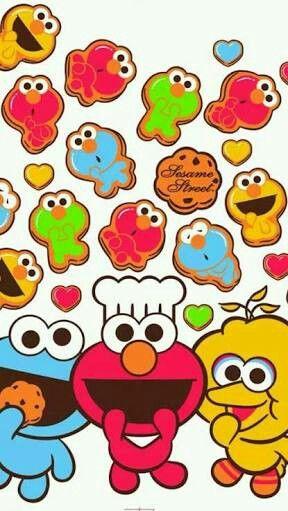 1000+ images about Sesame Street Wallpaper on Pinterest ...