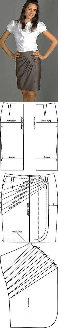 Modeling enveloping skirt... ♥ Deniz ♥