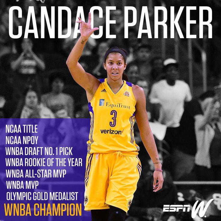 Candace Parker Resume  #WNBA #LadyVols #Sports #basketball #blackwomen #blackgirlsrock #LASparks #losangelessparks