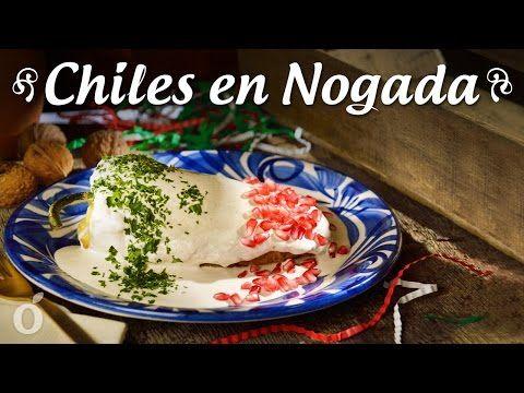 Auténticos Chiles en Nogada   La receta de Auténticos Chiles en Nogada es una preparación clásica dentro de las recetas mexicanas. Es un platillo tradicional en nuestra cocina, siendo una de las preparaciones más deliciosas de la gastronomía de nuestro país