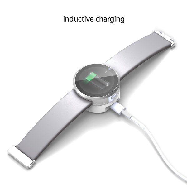 Inductive charging iWatch concept.
