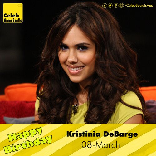 #CelebSocials wishes a Very #HappyBirthday to Kristinia DeBarge #HBDTKristiniaDeBarge #KristiniaDeBargeBirthday #BirthdayKristiniaDeBarge #Congrats #KristiniaDeBarge Kristinia DeBarge