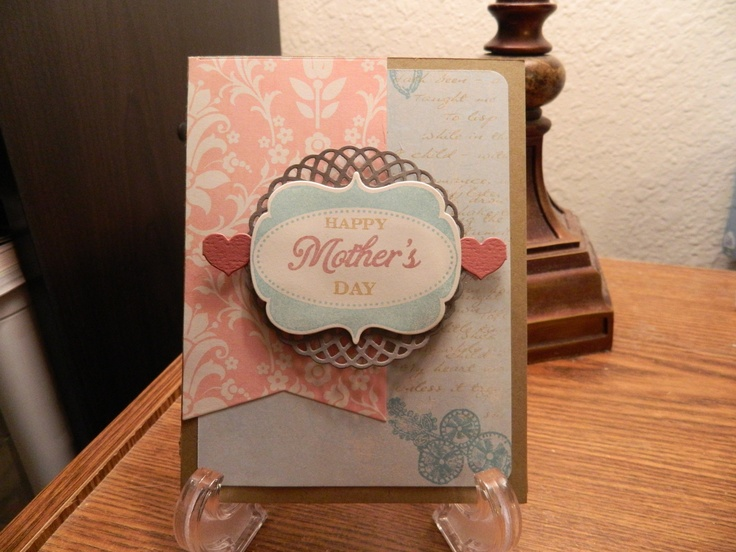 Happy Mother's Day - Scrapbook.com: Cards Mothers, Cards Ideas, Diy Cards