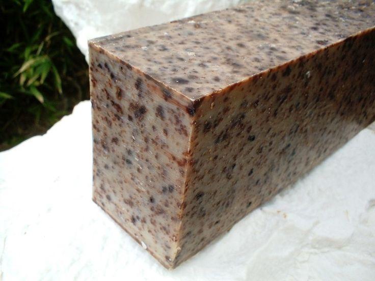 SQ-Natural - Olijfolie zeep - Afrikaanse Zwarte zeep - SQN01