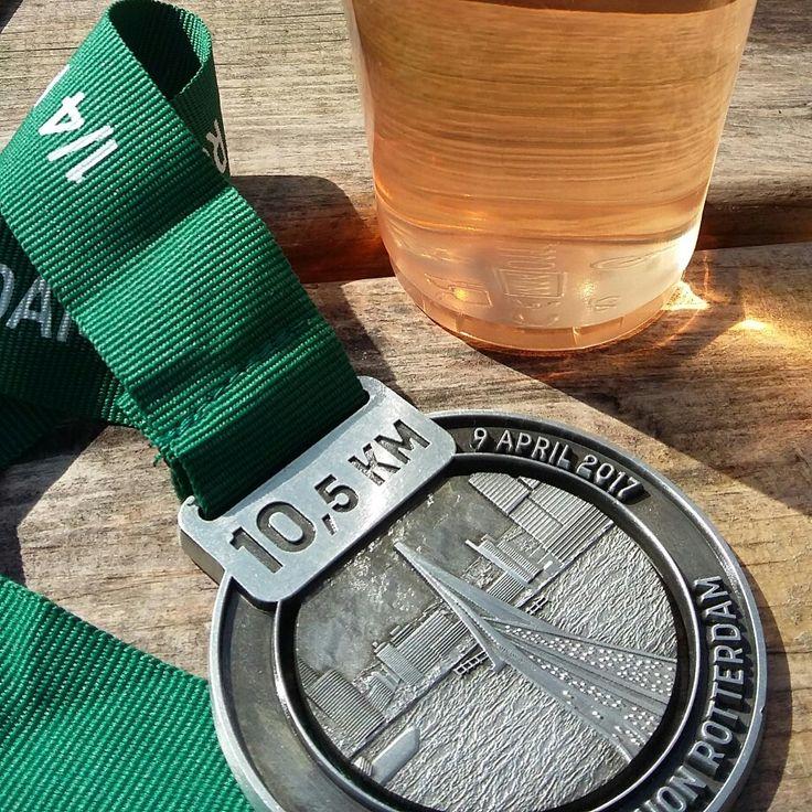 Kwart marathon Rotterdam 2017