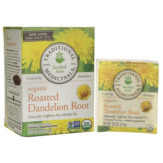 Traditional MedicinalsOrganic Roasted Dandelion Root Tea