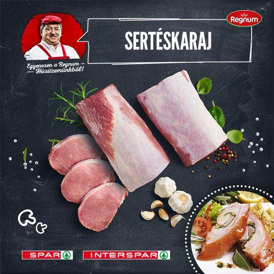 Nálam a karaj esetében csak egy kérdés van: töltve vagy rántva? Íme az egyik kedvenc receptem: http://www.spar.hu/hu_HU/spar_chef/receptek/foetel/ropogos_serteskaraj_zsalyaval.html