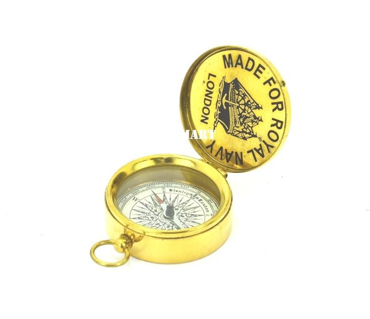 Nauticalmart Stanley London 1885 Shinny Brass Sundial Pocket Compass Antique Vintage Collectibles Navigation: Amazon.co.uk: Toys & Games