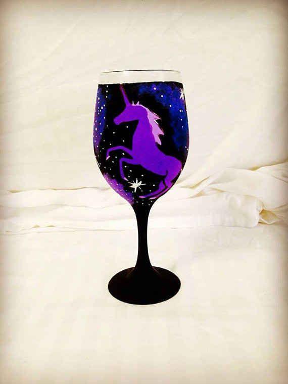 Unicorn Wine Glasses