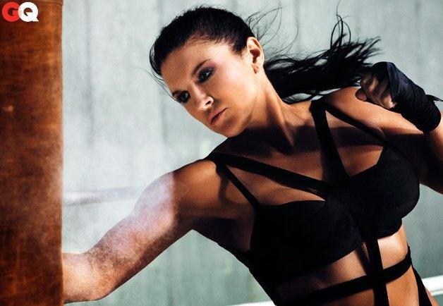 Favourite Gina carano a lesbian minutes