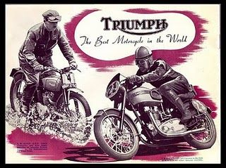Triumph. Keep an eye out for this type of graphic in current times.