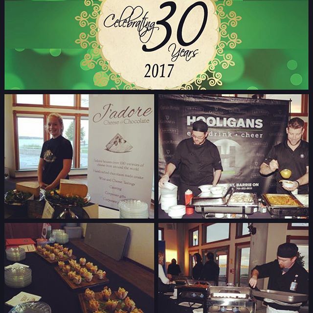 Our sincere thanks to the #toasttotourism2017 Food & Beverage participants @jadorefinecheese, @hooligansrestaurantbarrie, #OLG #GetawayRestaurant & @redlinebrewhouse for their amazing appetizers & treats graciously provided to our guests for sampling! #delish #thankyou #yourethebest