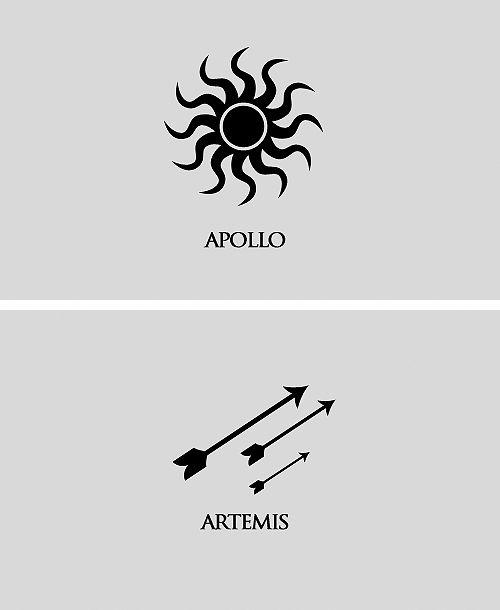 Apollo and Lady Artemis