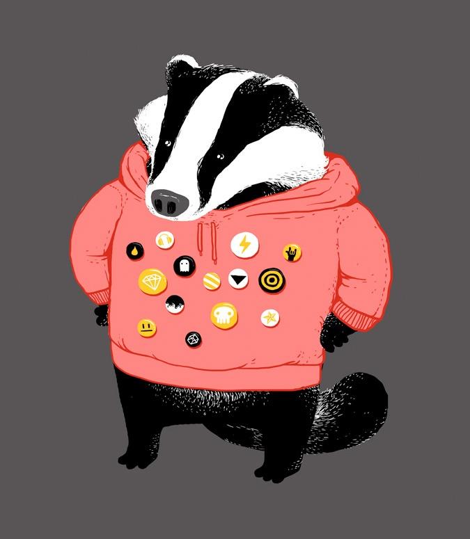 badge badger badgest