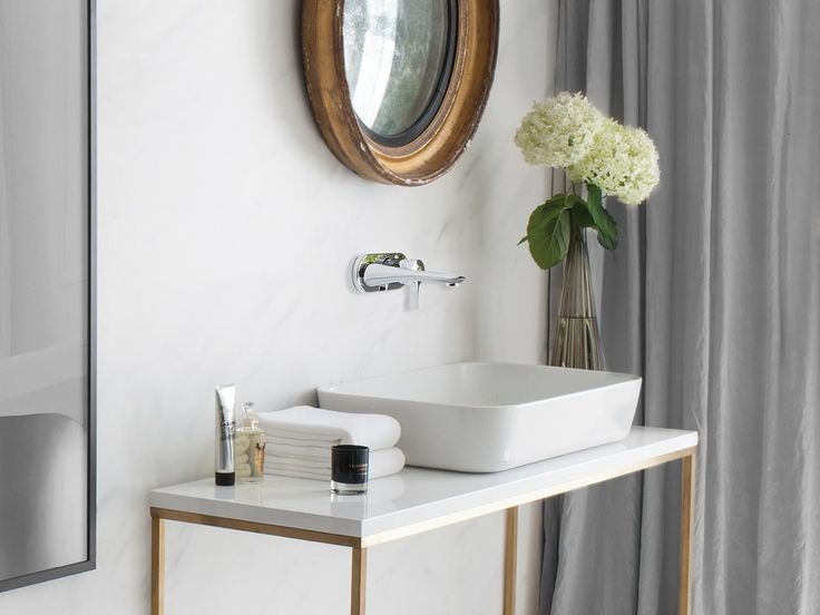 Sleek, chic & opulent; a hotel bathroom is the ultimate design choice for adding a touch of modern glamour to your home. @sottiniuk