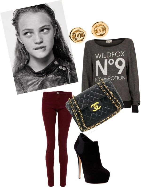 """""""The New School Outfit"""" by soschiaa ❤ liked on Polyvore"""