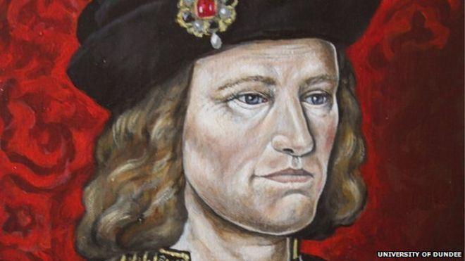 New Dundee University portrait of Richard III unveiled