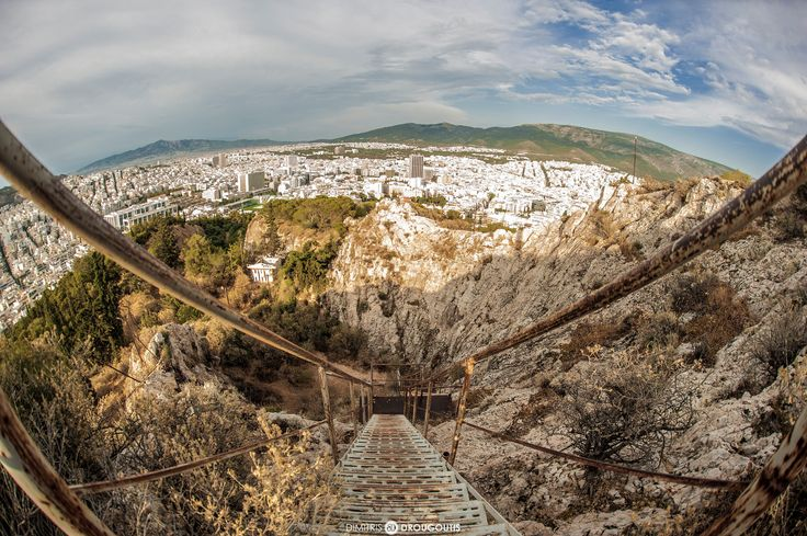 https://flic.kr/p/qaCdw1 | View of Athens from Lycabettus