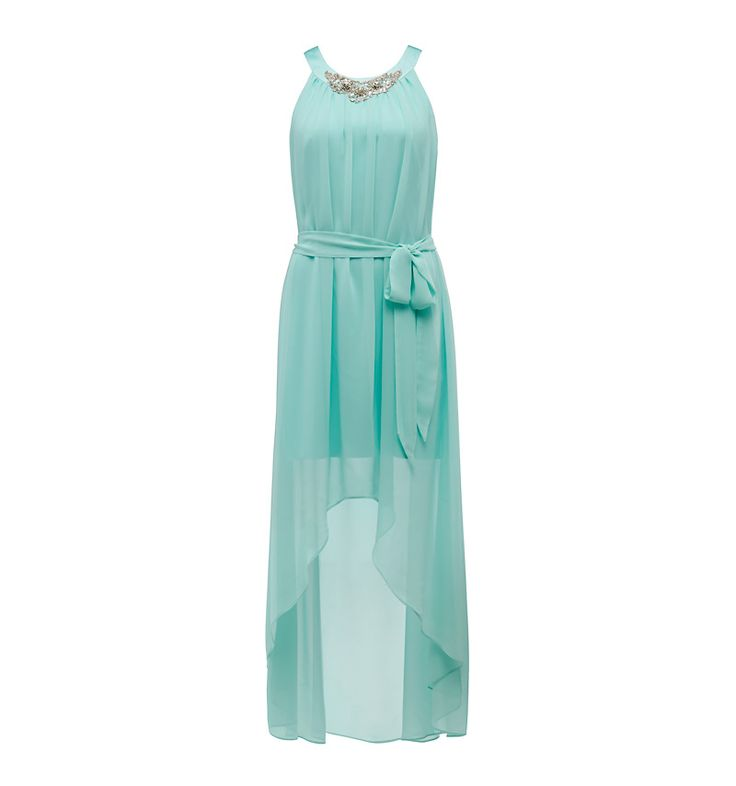 Wedding Pictures With Guest: Lillian Embellished High Low Dress