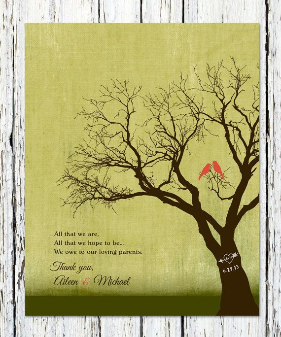 Wedding Gift For Parents Pinterest : You Gift For Parents on Pinterest Dad wedding gifts, Wedding gifts ...