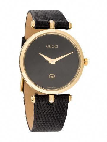 7d41d046fb8 Timeless necessity with this Gucci Watch.  (TheRealReal.com)... mysterydigger  Guccihandbags
