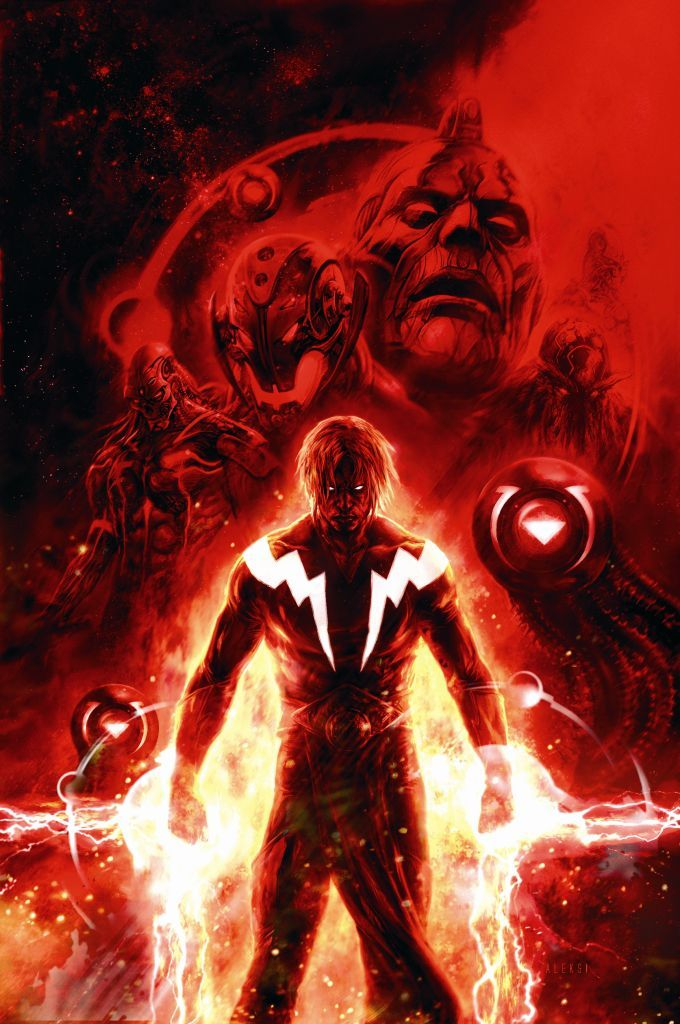 Adam Warlock by Aleksi Briclot