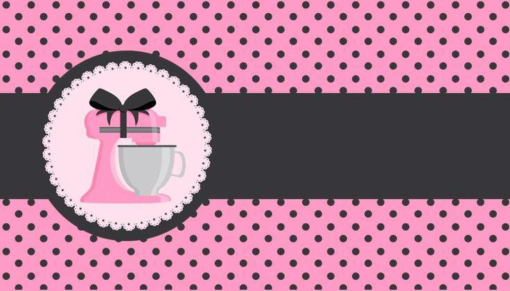 Kit Festa Pronta Chá de Panela grátis para baixar - Cantinho do blog Layouts e Templates para Blogger