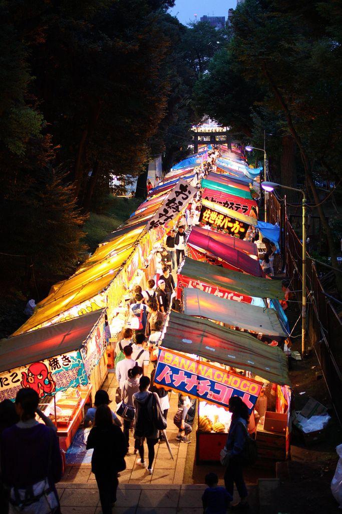 渋谷 氷川神社のお祭り
