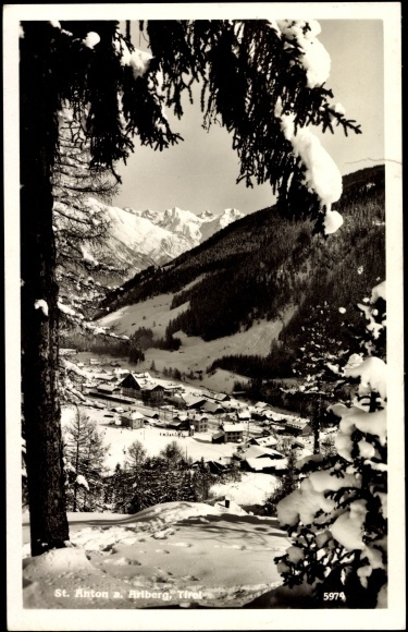 Postkarte St Anton Arlberg Tirol