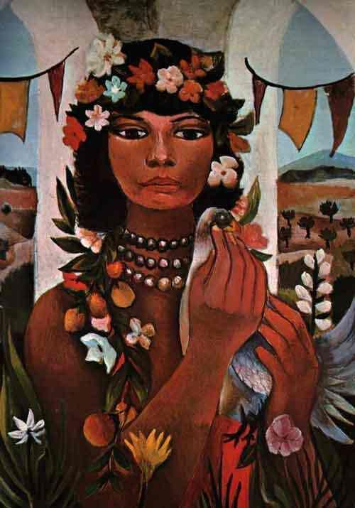 Di Cavalcanti (Emiliano Augusto Cavalcanti de Albuquerque e Melo), 1897-1976, Rio de Janeiro.