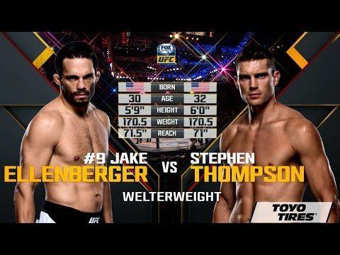 UFC (Ultimate Fighting Championship): UFC 205 Free Fight: Stephen Thompson vs Jake Ellenberger