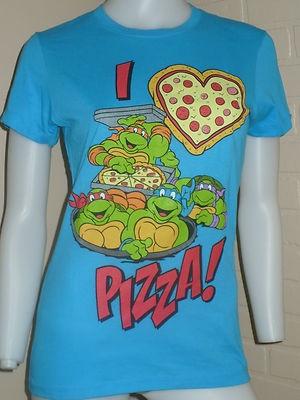 Teenage Mutant Ninja Turtles...Hehe...I'm a turtle fan. :-)