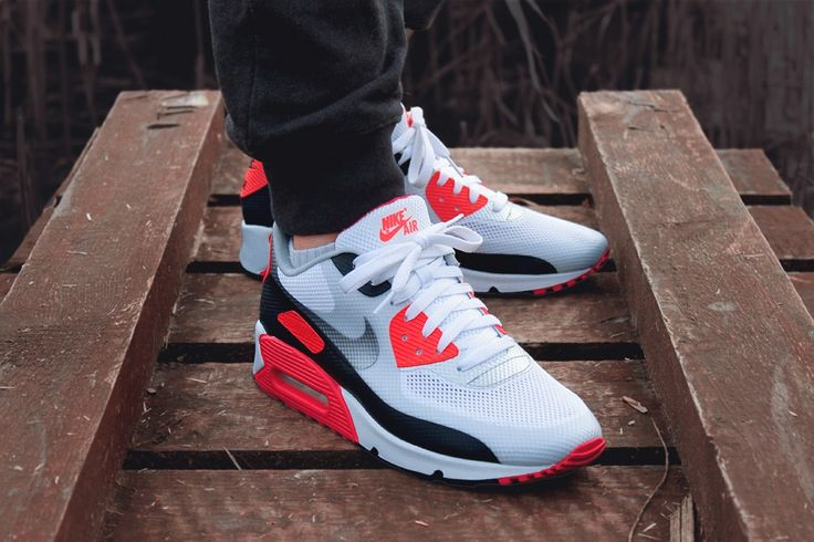 "A pair of Nike Air Max 90 Hyperfuse ""Infrared"" - On my to get list. #sneakers"