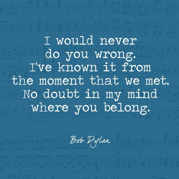 Make You Feel My Love - Bob Dylan's Most Beautiful Lyrics - Photos