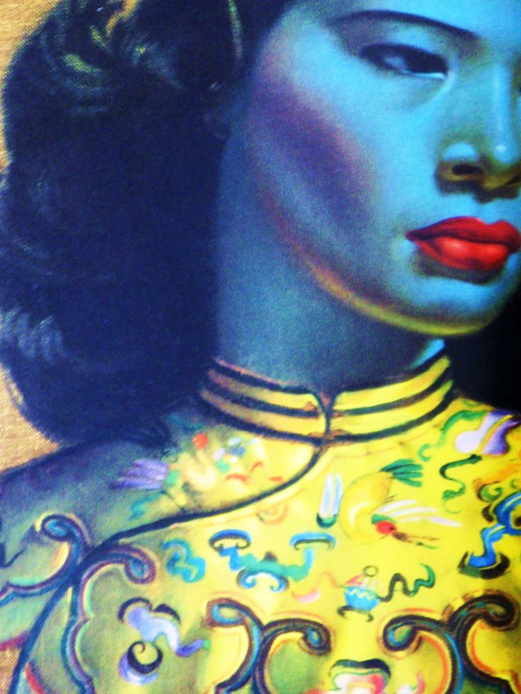 Vladimir Tretchikoff - A Vintage Movement fave... I was lucky enough to find an original 1960's print in its original frame at auction in 2009!.