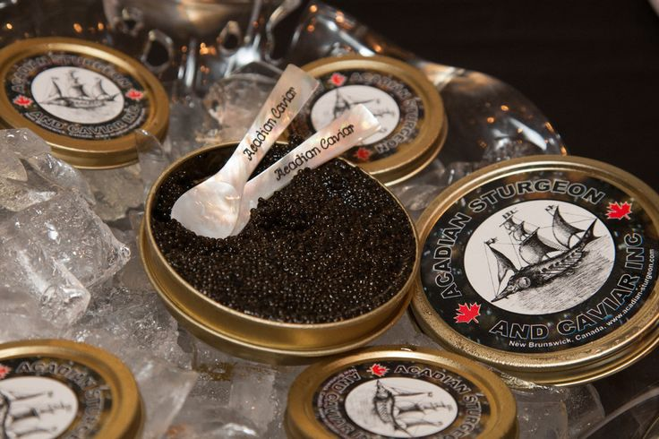 Acadian Sturgeon and Caviar Company Store The only caviar producer in New Brunswick, Acadian Sturgeon and Caviar is a family-owned business on the shores of the St. John River, as passionate about conservation as they are about producing this delectable treat.