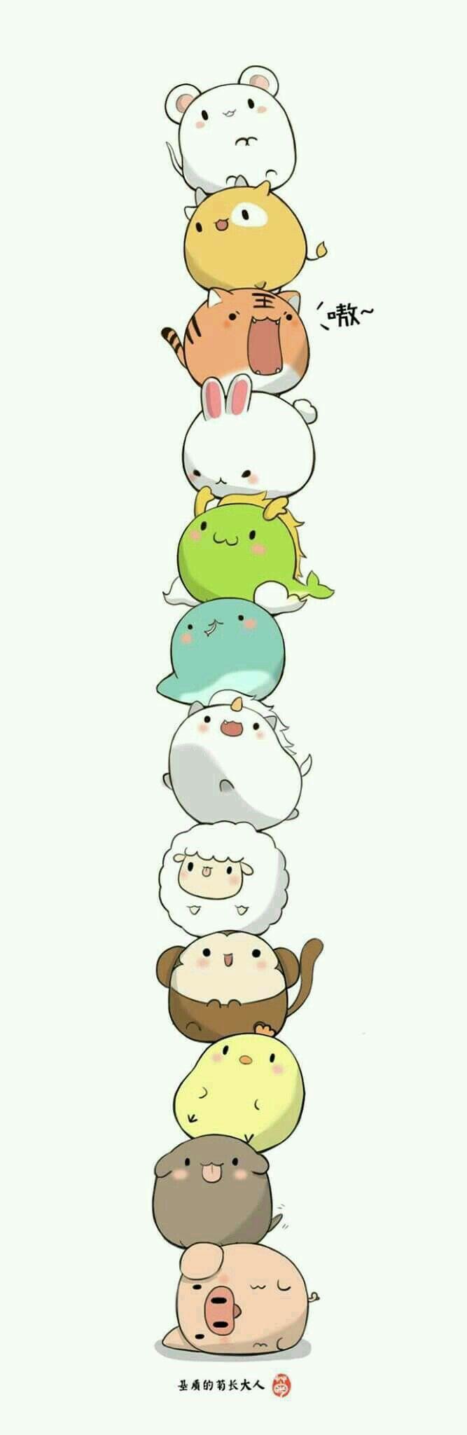 Zodiac Animals! (i think...)