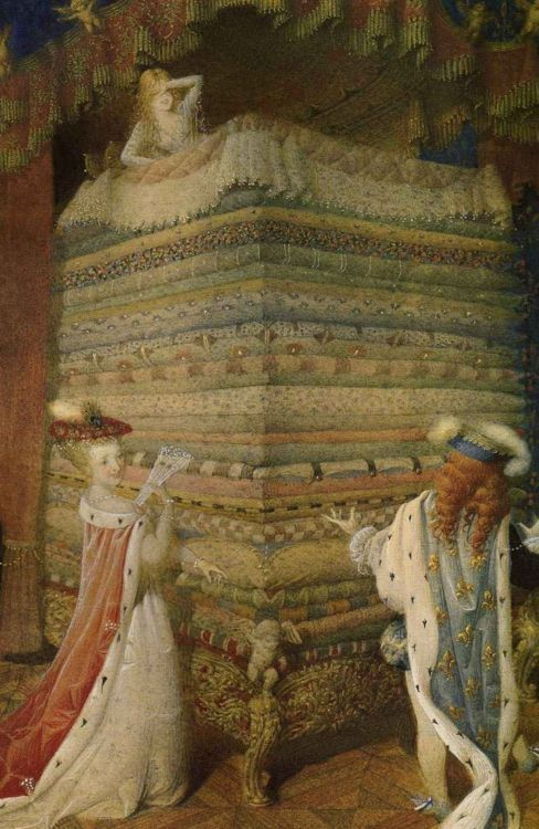 forestoffairytales:    Princess and the Pea