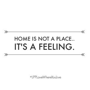 Home is not a place, it's a feeling | Little Paper Projects #LPPLoveWhereYouLive…
