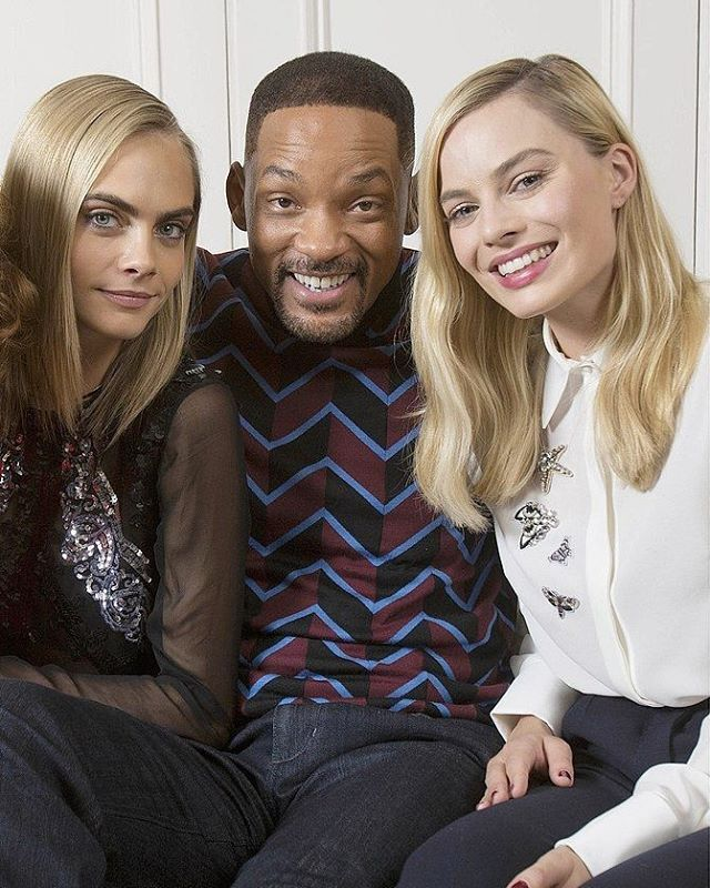 Will ,Cara,and Margot
